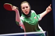 2016 ITTF Asia Olympic Qualification, Hong Kong - Iranian table tennis player Olena Titarenko