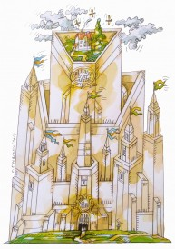 9th International Contest of Caricature and Cartoon of Vianden 2016, Luxembourg - My home is my castle - 3rd Honorable mention - Zbigniew Kolaczek, Poland