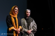 Fajr International Film Festival 2016 at Charsou Cineplex in Tehran, Iran - 18 - Acresses Fatemeh Motamed-Arya and Pantea Panahiha