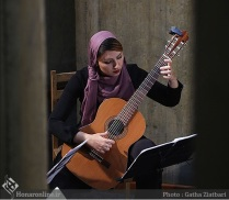 Tehran Contemporary Music Festival 2016 - Anil Guitar Quartet - 03 - Iran