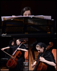 Tehran Contemporary Music Festival 2016 - Opia Ensemble - Ioana Mandrescu (Piano) and Aleksandra Pykacz (Cello) - Romania & Poland