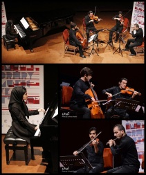 Tehran Contemporary Music Festival 2016 - Parsina Ensemble - 01 - Iran