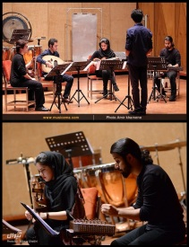 Tehran Contemporary Music Festival 2016 - Pierrot Ensemble - 01 - Iran