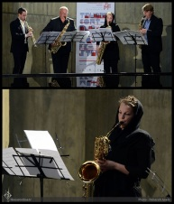 Tehran Contemporary Music Festival 2016 - Stockholm Saxophone Quartet - 01a - Sweden