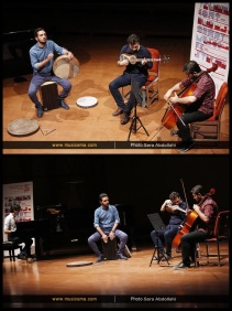 Tehran Contemporary Music Festival 2016 - Tabriz Experimental Music Ensemble - 01a - Iran