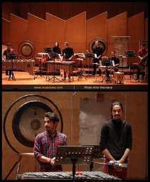 Tehran Contemporary Music Festival 2016 - Tehran Percussion Ensemble - 01a - Iran