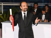Iranian Film 'The Salesman' (Forushande) at Cannes 2016 - Closing Ceremony - Photocall Winners - Best Screenplay Award - Asghar Farhadi - 01