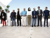 Iranian Film 'The Salesman' (Forushande) by Asghar Farhadi at Cannes 2016 - Photocall - Team of Forushande