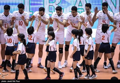 Rio 2016 - FIVB Men World Olympic Qualification Tournament (WOQT) in Japan - Iran vs. Japan - Volleyball team