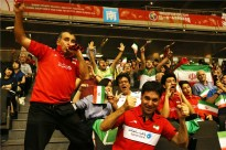 Rio 2016 - FIVB Men World Olympic Qualification Tournament (WOQT) in Japan - Iran vs. Poland - Volleyball fans - 03