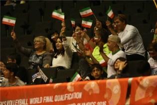 Rio 2016 - FIVB Men World Olympic Qualification Tournament (WOQT) in Japan - Iran vs. Venezuela - Volleyball fans