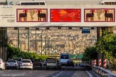 Tehran, Iran – Billboards swap – Tehran is an art gallery 2016 – 009