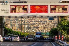 Tehran, Iran – Billboards swap – Tehran is an art gallery 2016 – 009