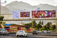 Tehran, Iran – Billboards swap – Tehran is an art gallery 2016 – 014