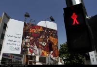 Tehran, Iran – Billboards swap – Tehran is an art gallery 2016 – 018