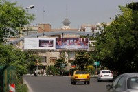Tehran, Iran – Billboards swap – Tehran is an art gallery 2016 – 019