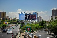 Tehran, Iran – Billboards swap – Tehran is an art gallery 2016 – 020