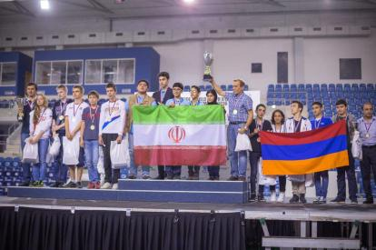 2016 World Youth U16 Chess Olympiad - Final team ranking - Iran (gold), Russia (silver), Armenia (bronze)