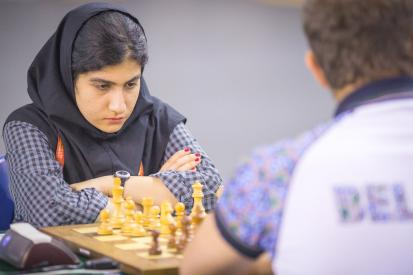 2016 World Youth U16 Chess Olympiad - Iranian team - Board 5 - Anahita Zahedifar
