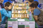 2016 World Youth U16 Chess Olympiad - Round 6 - Russia vs. Iran - 1