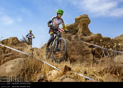 Fars, Iran - National Mountain Bike Championships - Women - 24 (Photo credit IRNA)