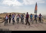 Fars, Iran - National Mountain Bike Championships - Women - 31 (Photo credit IRNA)