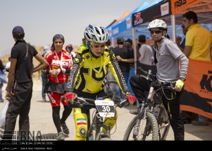 Fars, Iran - National Mountain Bike Championships - Women - 54 (Photo credit IRNA)