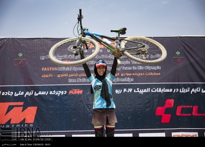 Fars, Iran - National Mountain Bike Championships - Women - 55 (Photo credit IRNA)