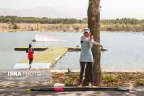 Javar, Mahsa - Iranian rower - 2016 Rio Olympic Games - Foto by Hamid Amlashi for ISNA - 5