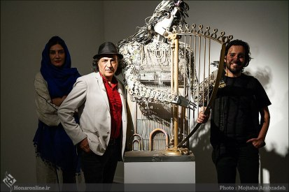 Nasser Palangi, Saghar Masudi and Kaveh Afaq's 'Peace Symphony' - Ariana Gallery 0