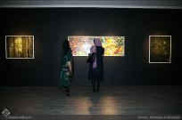 Nasser Palangi, Saghar Masudi and Kaveh Afaq's 'Peace Symphony' - Ariana Gallery 14