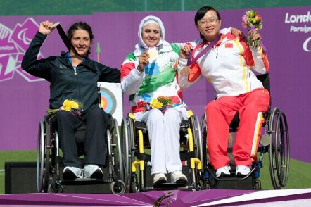 Nemati, Zahra - 2012 London Paralympic Games - Archery - Gold (Iran)