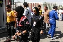 Peykan Pour, Leila - Iranian racing driver - Winner - Kia Pride Championship in Azadi Sports Complex, Tehran - July 2016 - 03