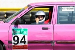 Peykan Pour, Leila - Iranian racing driver - Winner - Kia Pride Championship in Azadi Sports Complex, Tehran - July 2016 - 06