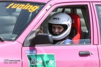 Peykan Pour, Leila - Iranian racing driver - Winner - Kia Pride Championship in Azadi Sports Complex, Tehran - July 2016 - 08