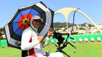 Rio 2016 - Archery - Ranking Round - Zahra Nemati - Olympic Games in Rio de Janeiro, Brazil