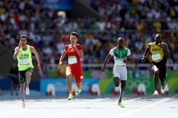 Rio 2016 - Athletics - 100m - Hassan Taftian - Olympic Games in Rio de Janeiro, Brazil - Cameron Spencer (Getty Images)