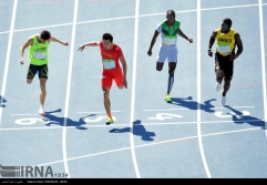Rio 2016 - Athletics - 100m - Hassan Taftian - Olympic Games in Rio de Janeiro, Brazil - (IRNA)