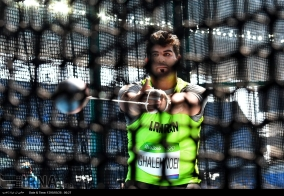 Rio 2016 - Athletics - Hammer Throw - Pezhman Ghalenoei - Olympic Games in Rio de Janeiro, Brazil - (IRNA)