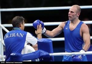 Rio 2016 - Boxing - Ehsan Rouzbahani - Olympic Games in Rio de Janeiro, Brazil - Foto by M. Hasanzadeh-Tasnim News Agency