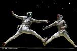 Rio 2016 - Fencing - Men's Sabre Individual - Ali Pakdaman (Iran) and Matyas Szabo (Germany) - Olympic Games in Rio de Janeiro, Brazil - Foto Payam Parsaei (YJC)