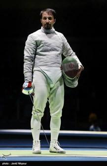 Rio 2016 - Fencing - Men's Sabre Individual - Mojtaba Abedini (Iran) - Olympic Games in Rio de Janeiro, Brazil - Foto Javid Nikpour (Tasnim News)