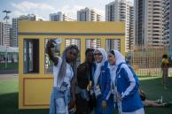 Rio 2016 - Members of Iran's Olympic team - Olympic Games in Rio de Janeiro, Brazil - Foto by Ed Jones-AFP-Getty Images