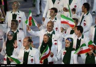 Rio 2016 - Opening Ceremony - Iranian contingent entering the stadium - Foto Javid Nikpour - Tasnim News