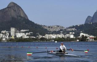 Rio 2016 - Rowing - Single Sculls - Heat 2 - Mahsa Javar - Olympic Games in Rio de Janeiro, Brazil
