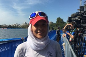 Rio 2016 - Rowing - Single Sculls - Mahsa Javar - Olympic Games in Rio de Janeiro, Brazil