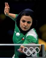 Rio 2016 - Table Tennis - Round 1 - Neda Shahsavari - Olympic Games in Rio de Janeiro, Brazil
