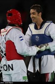 Rio 2016 - Taekwondo - Men's -80kg - Mahdi Khodabakhshi - Olympic Games in Rio de Janeiro, Brazil - Javid Nikpour (Tasnim) 02