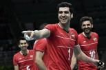 Rio 2016 - Volleyball - Iran-Egypt - Olympic Games in Rio de Janeiro, Brazil - Foto Philippe Lopez (AFP)