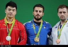 Rio 2016 - Weightlifting - 85kg - Gold Kianoush Rostami (Iran), Silver Tao Tian (China), Bronze Gabriel Sincrain (Romania) - Foto Javad Nikpour (TNA)